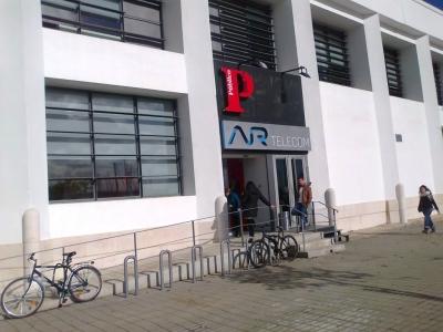 Parqueamento de bicicletas à porta de empresas em Lisboa